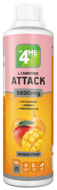 L-carnitine+Guarana ATTACK 3600